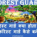 Forest Guard Kya Hota Hai Forest Guard Kaise Bane