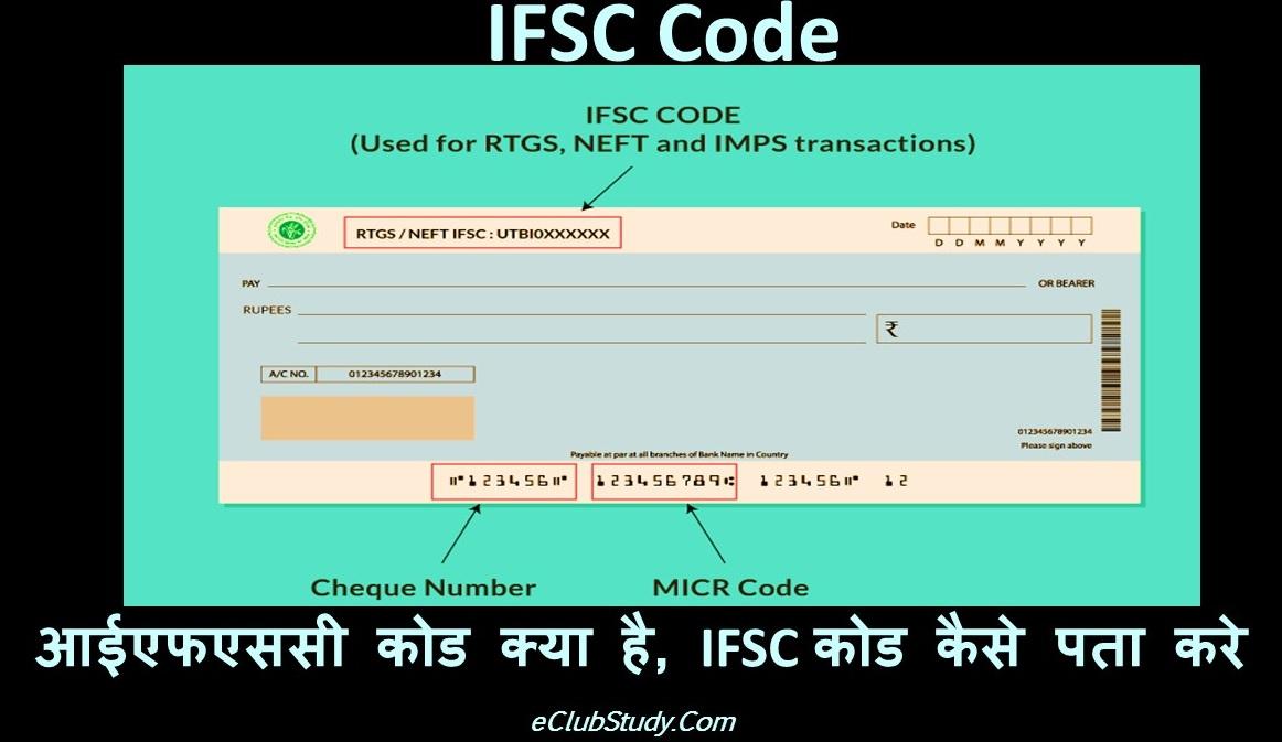 IFSC Code Kya Hota Hai IFSC Code Kaise Pta Kare